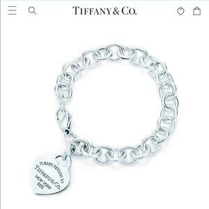 Return to Tiffany Heart Charm Bracelet